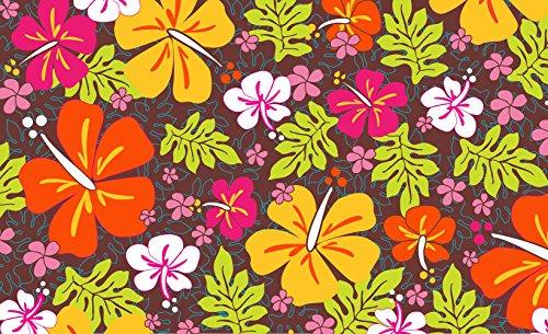 Toland-Home-Garden-Aloha-Flowers-IndoorOutdoor-Standard-Mat-18-x-30