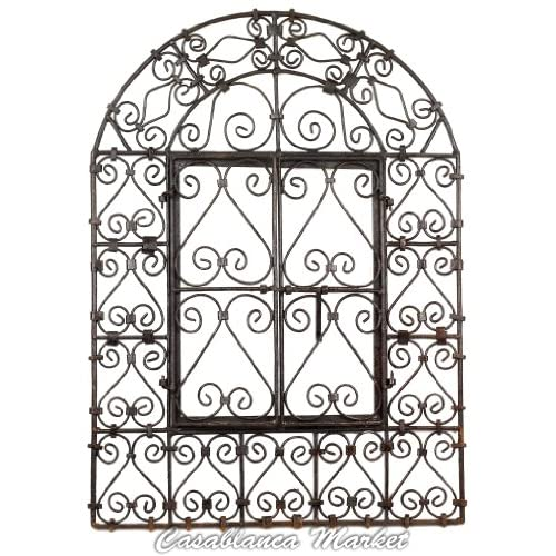 The Wrought Iron Window with Doors