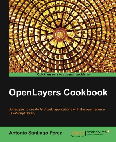 OpenLayers Cookbook cover