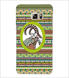PrintDhaba Zodiac Aries D-5797 Back Case Cover for SAMSUNG GALAXY NOTE 5 (Multi-Coloured)