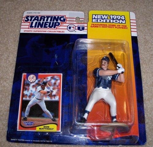 1994 Don Mattingly MLB Starting Lineup - 1