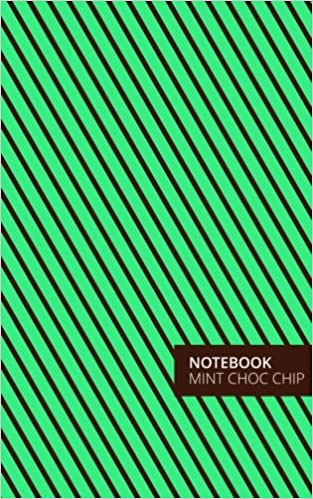 Mint Choc Chip Lined Notebook