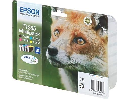 Epson Stylus SX 230 (T1285 / C 13 T 12854010) - original - Inkcartridge multi pack (black, cyan, magenta, yellow)