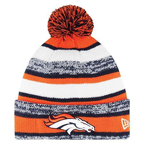 Denver Broncos On Field Sport Knit Beanie - Team Color