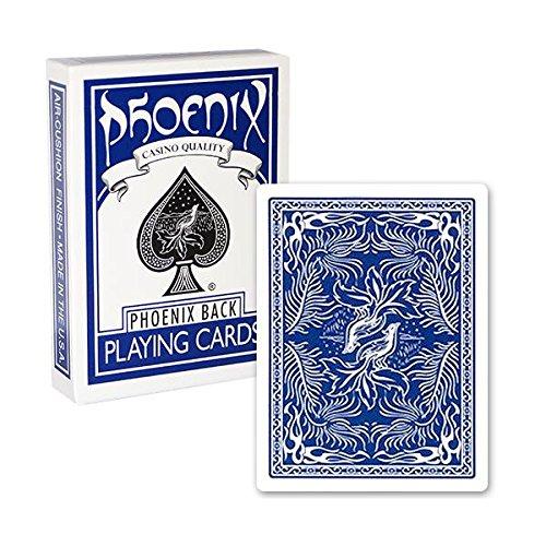 Mazzo di carte Phoenix dorso blu