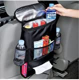 Autoark AK-002 Car Seat Back Organizer, Multi-Pocket Travel Storage Bag(Heat-Preservation)