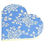 R S Jewels Paper Handmade Heart Shape Flora Designs Diary Pack Of 2