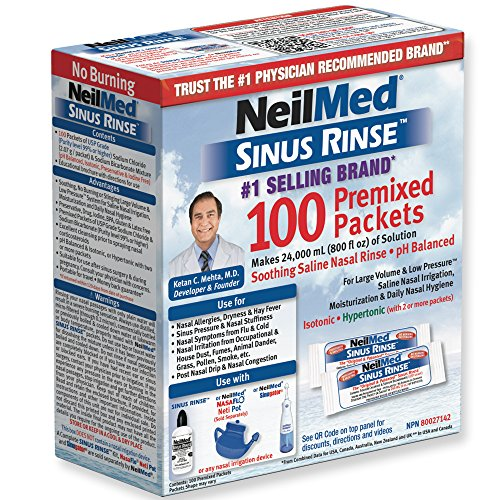 Sinus Rinse Refill Packets 100 ct.