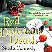 Red Delicious Death: An Orchard Mystery | [Sheila Connolly]