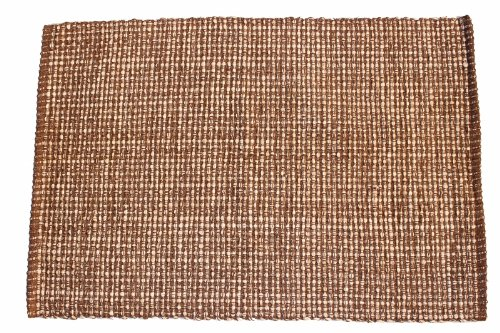 Artim Home Textiles, Terra Throw Rug 2'x3' - Chocolate