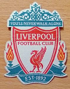 Liverpool Football Club Emblem Iron / Sew On Embroidered Patch from ChewyBuy from ChewyBuy