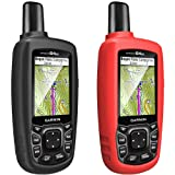 [2-Pack] TUSITA Case for Garmin GPSMAP 62 62s 62st 62sc 62stc 64 64s 64st 64sc - Silicone Protective Cover Skin - Outdoor Handheld GPS Navigator Accessories (Color: 2-PACK)