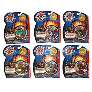 6 x Different Booster Pack - Bakugan