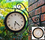 Bracket Mounted Outdoor Swivel Clock...