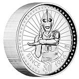 ツバル 2016年 ウルトラマン放送開始50年記念コイン 5オンス銀貨 ハイレリーフ プルーフ <CTLS60019>