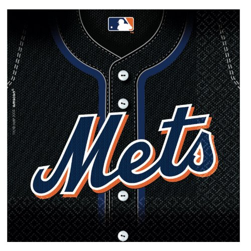 New York Mets Baseball - Lunch Napkins Party Accessory