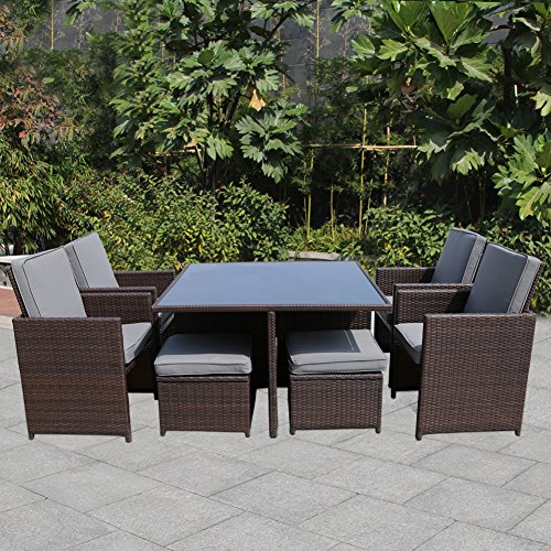 All weather wicker patio set shop now best all weather for All weather garden furniture