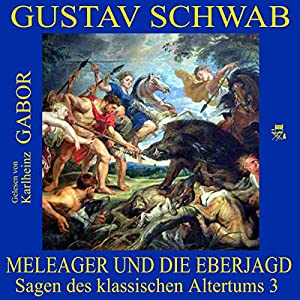 Meleager und die Eberjagd (Sagen des klassischen Altertums 3) Hörbuch