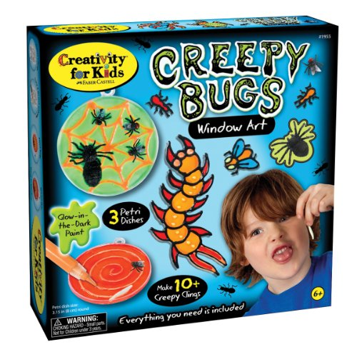 Creativity for Kids Creepy Bugs Window Art