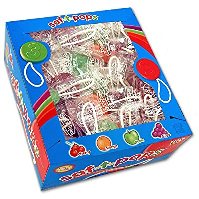 Saf-T-Pops 100 ct box - assorted flavors from Spangler Candy Company