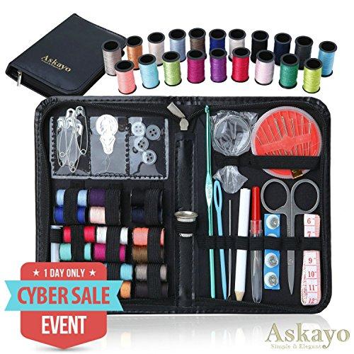 Askayo -Simple and Elegant- Sewing Kit, Clothing Repair