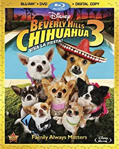 Beverly Hills Chihuahua 3 (Two-Disc Combo: Blu-ray/DVD + Digital Copy)