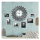 Foto-Wand-Massivholz-Fotowand-Fotorahmen-Wand-Continental-Mittelmeer-Wohnzimmerwand-Fotorahmen-Kombination-Fotowand-kreative-modernen-minimalistischen-Bilderrahmen-design-C6