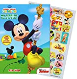 Mickey Mouse 144 Page Coloring And Activity Book With Over 30 Stickers.