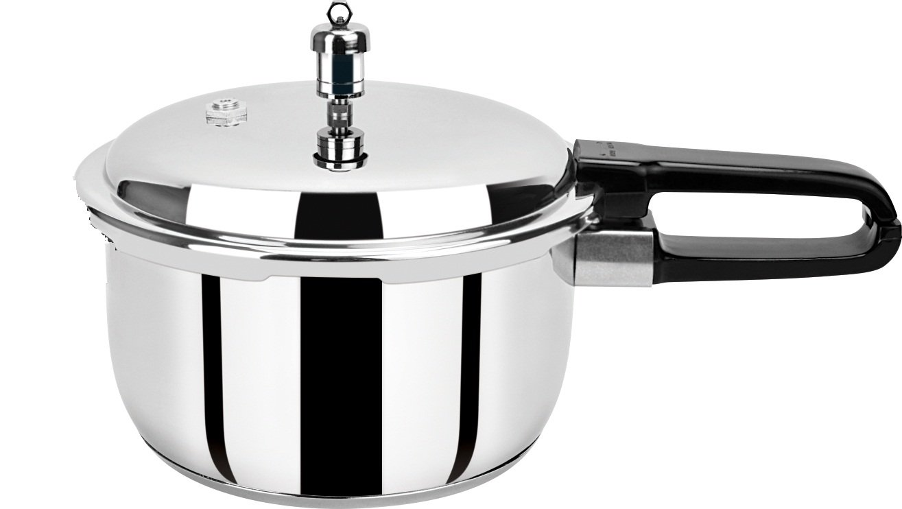 Pristine Induction Base Stainless Steel Pressure Cooker, low price