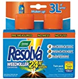 Westland Resolva 24H Concentrate Weedkiller Twinpack (105ml each)