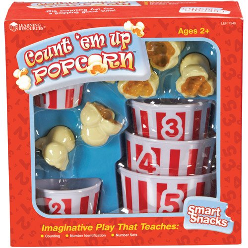 Learning Resources Smart Snacks Count 'Em Up Popcorn (Count Pop Corn compare prices)