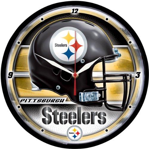 Wincraft Pittsburgh Steelers Round Clock