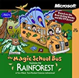 Microsoft Scholastics The Magic School Bus Explores the Rainforest (Jewel Case) Ages 6-10 [Old Version]