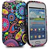 Accessory Master Silikon-H�lle f�r Samsung Galaxy S3 mini Blumenmuster Multi Jelly Fish