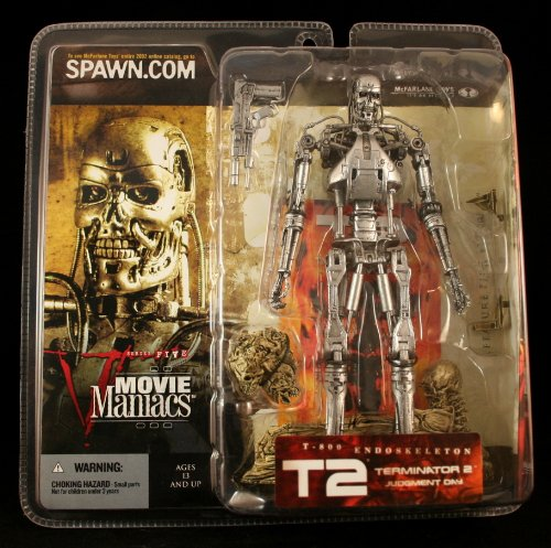 Picture of McFarlane Movie Maniacs 5 : T-800 Endoskeleton Figure (B003751K4U) (McFarlane Action Figures)
