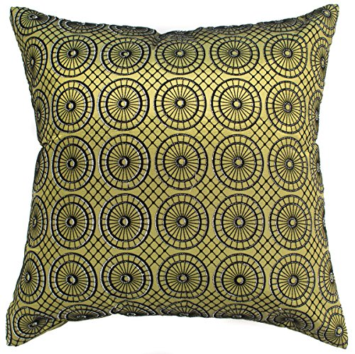 Avarada circular twinkle checkered throw pillow cover for Sofa cushion covers 24x24