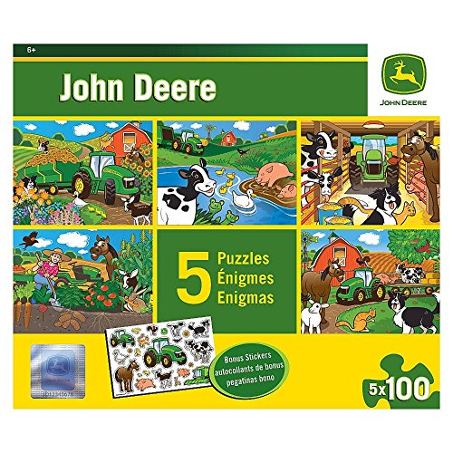Masterpieces PuzzleCompany John Deere Jigsaw Puzzles (500-Piece) (5-Pack)
