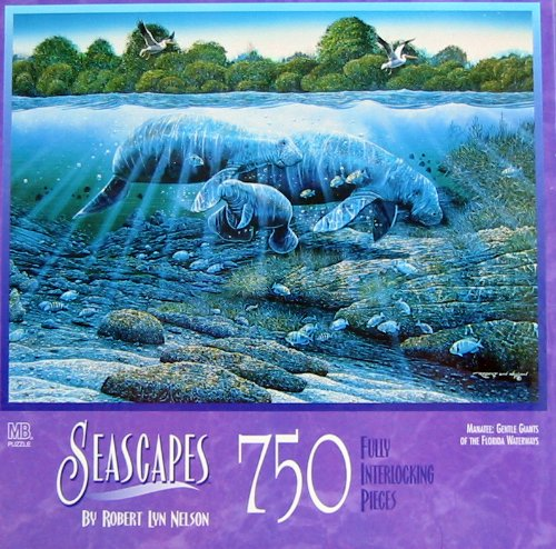 Seascapes 750 piece puzzle (assorted designs)