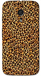 Timpax protective Armor Hard Bumper Back Case Cover. Multicolor printed on 3 Dimensional case with latest & finest graphic design art. Compatible with Motorola Moto -G-2 (2nd Gen )Design No : TDZ-23946