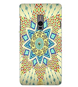 ONE PLUS TWO RANGOLI Back Cover by PRINTSWAG