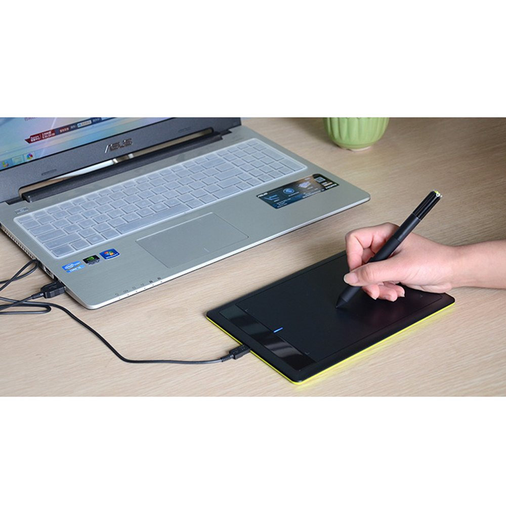 Wacom Bamboo Splash Pen Tablet Drawing Tablet Ctl471 For