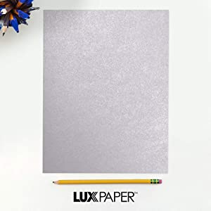 LUXPaper 8.5 x 11 Paper for Crafts and Printing in Kunzite Metallic - Stardream, Scrapbook and Office Supplies, 500 Pack (Pale Pink) (Color: Kunzite Metallic - Stardream?, Tamaño: 500 Qty.)