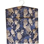 Midnight Blue Owls Print Large Laundr...