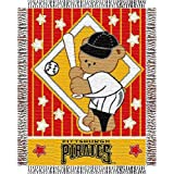 "Pittsburgh Pirates MLB Triple Woven Jacquard Throw (044 Series) (36""x46"")"