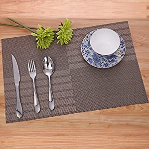 livezone high quality dining room placemats for table