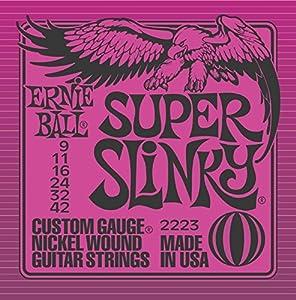 ERNIE BALL アーニーボール エレキギター弦 2223 Super Slinky スーパースリンキー