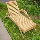 Anderson Teak Innova Sun Chaise Lounge Chair