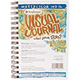 "Strathmore Visual Journal Spiral Bound 5.5""X8""-140# Watercolor"