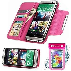 Vangoddy Wallet Case - Pink