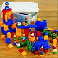 Krinkle Blocks (300 piece set) from Kaplan Early Learning Company